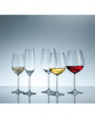 DIVA LIVING ワイングラス(赤ワイン)6個セット見る