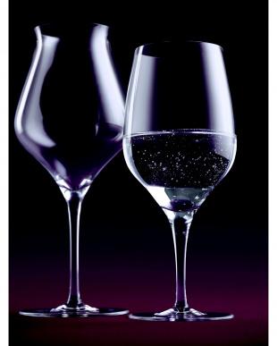 THE FIRST ブラック ペアワイングラス見る