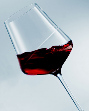 SENSA 赤ワイングラス2個セット見る