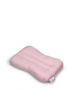 ピンク スリープフィットネス ポリエステルわたまくら S やわらかめ見る