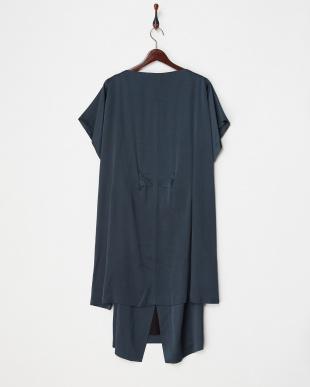 ダークグリーン ビーズ刺繍DRESS見る