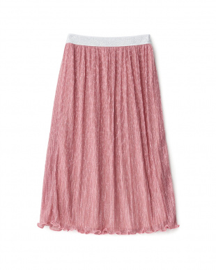 ピンク  ラメ入りスカート見る