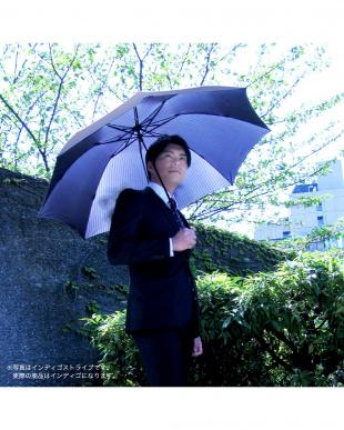 インディゴ(濃紺) 手動折り畳み傘見る