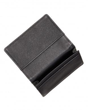 BLACK アリュメットカードケース見る