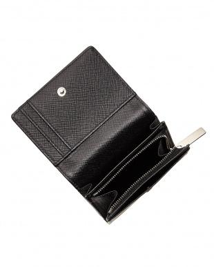 BLACK アリュメットコイン・カードケース|UNISEX見る