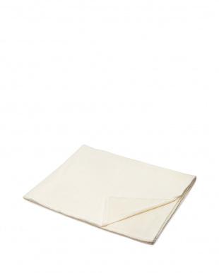 ホワイト  和紙繊維混タオルシーツ見る