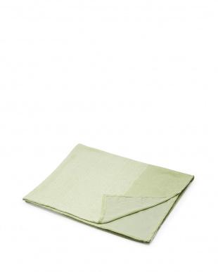 グリーン  和紙繊維混タオルシーツ見る