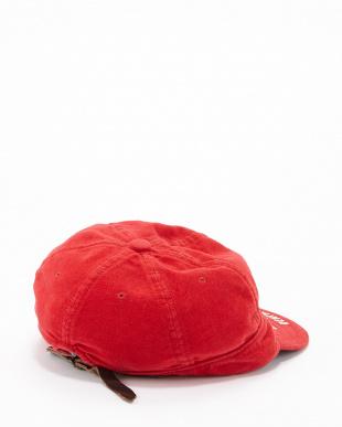 レッド リクラインドクロス B CAP見る