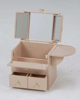 ピンク  コスメボックス 26×19×31cm見る