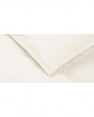 アイボリー [シングル]洗える羽毛肌掛け布団 日本製 ファイングレード ホワイトダックダウン85%使用 生成 シングル見る