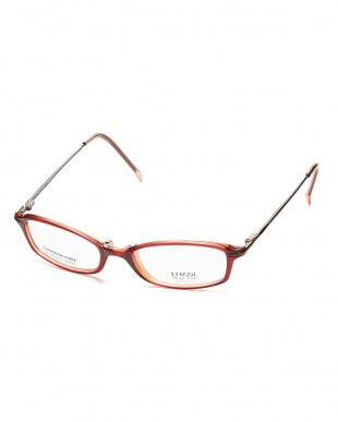 ダークレッド  SLM278 フレーム+クリップオンサングラス│MEN見る