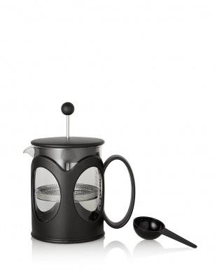 ブラック KENYA フレンチプレスコーヒーメーカー 500mL見る