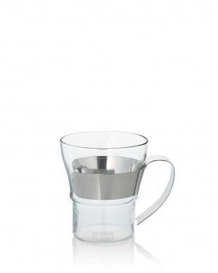 シルバー ASSAM ティー&コーヒーグラス 300mL 2P見る