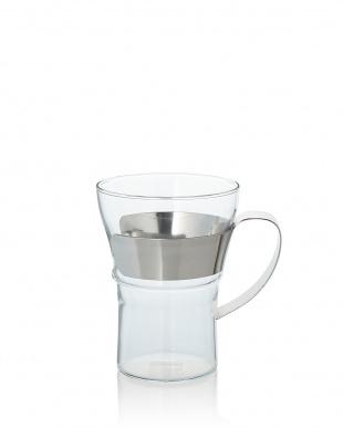 シルバー ASSAM ティー&コーヒーグラス 350mL 2P見る