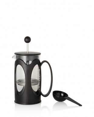 ブラック KENYA フレンチプレスコーヒーメーカー 350mL見る