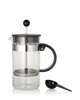 ブラック BISTRO NOUVEAU フレンチプレスコーヒーメーカー 1L見る