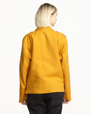 GOLD(MUSTARD) ライダースジャケット|UNISEX見る