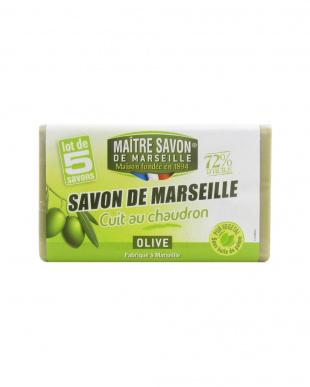 サボン・ド・マルセイユ オリーブ 100g×5個パック見る