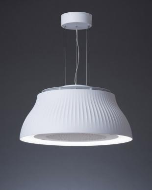 ホワイト  空気清浄機能付照明 PT(交換フィルター付き)見る