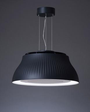 ブラック  空気清浄機能付照明 PT(交換フィルター付き)見る