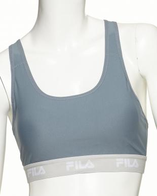 OG  FILA 水陸両用トップスセット(カラーネップTシャツ+配色ブラトップ)見る