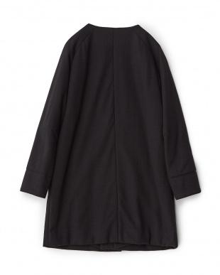 ブラック  Wo/CoジャージーMuji コート見る