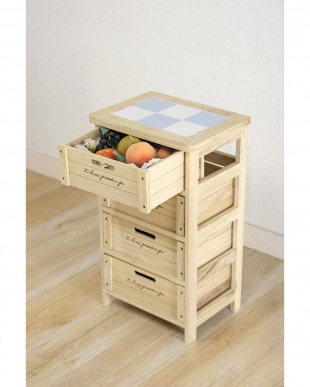 木製4段ボックス HF05-003(N)見る