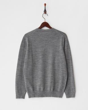 GRAY  クルーネックセーター見る