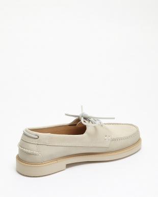 ベージュ chaussures basile デッキシューズ見る