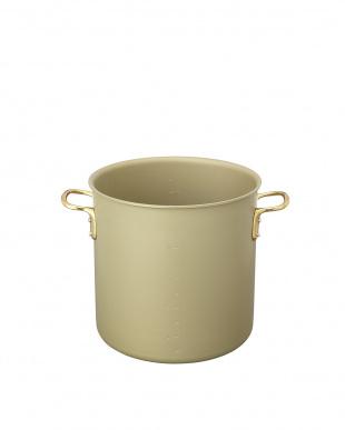 ゴールド ガス専用 アルマイト加工寸胴鍋(30cm)見る