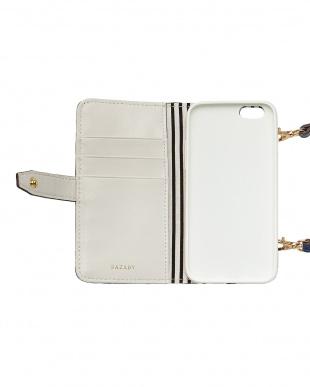 ネイビー  ハローキティ ノートブック型iPhoneケース(6/6Sサイズ)見る