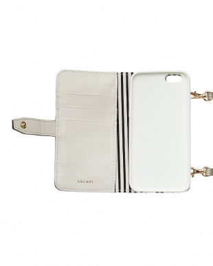 シャンパン  ハローキティ ノートブック型iPhoneケース(6/6Sサイズ)見る