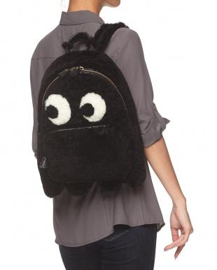 Black  Backpack Mini Ghost見る