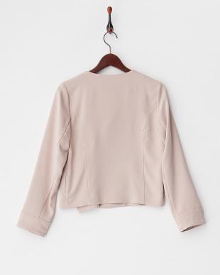 ピンク  ジップジャケット見る