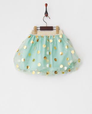 Light Green オーガンジーバルーンスカート見る