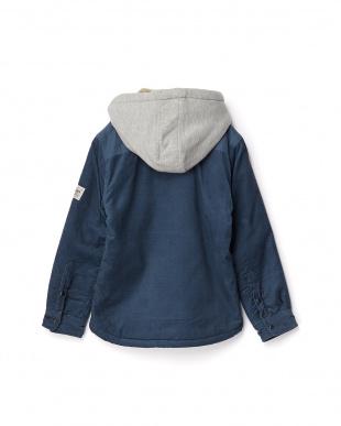 ブルー FAKE ETHICS YOUTH シャツジャケット見る