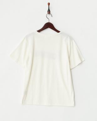 OFF WHITE カスレロゴプリントTシャツ見る