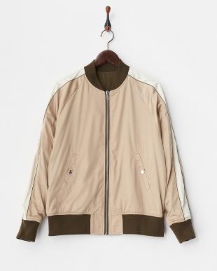 カーキ MA-1ジャケット見る