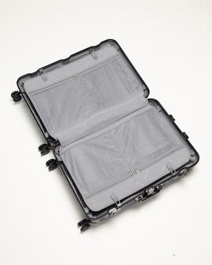 ダークブルー  Frame型スーツケース 約95L見る