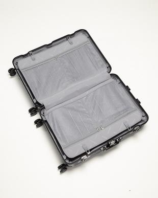 シルバー  Frame型スーツケース 約95L見る
