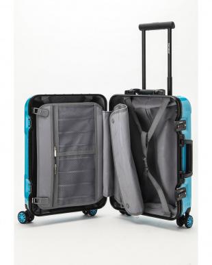 スカイブルー  Frame型スーツケース 約34L見る