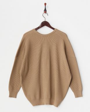 CAMEL  アゼバックシャンルーズセーター見る