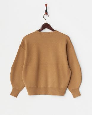 CAMEL  ボリュームスリーブセーター見る