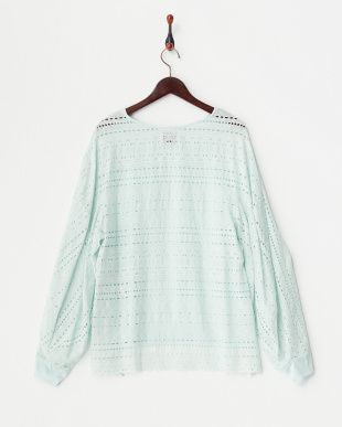 MINT  EMBROIDERED LACE DRAPY JMP見る