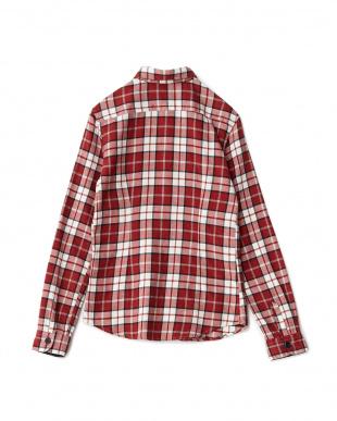 RED  コットンネルシャツ見る