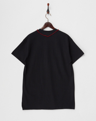 BLACK/RED ROZARIO TEE見る