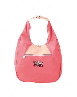 ピンク  ナイロンShuShu 3WAYバッグ見る