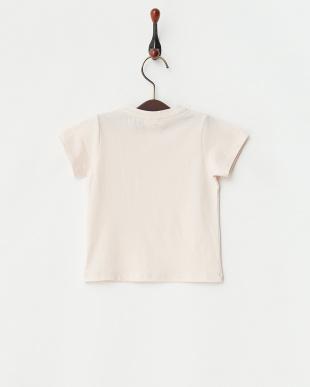 ピンク エンブレムロゴTシャツ|Baby見る