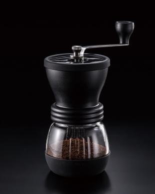 ブラック セラミックコーヒーミル・スケルトン見る