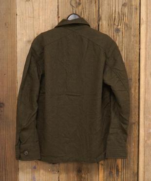 カーキ M51ミリタリーシャツ|MEN見る